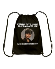 Feeling Cute T-Shirt Drawstring Bag thumbnail