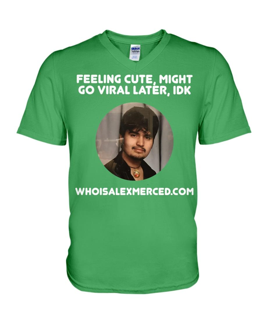 Feeling Cute T-Shirt V-Neck T-Shirt