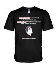 Libertarian Example T-Shirt V-Neck T-Shirt thumbnail