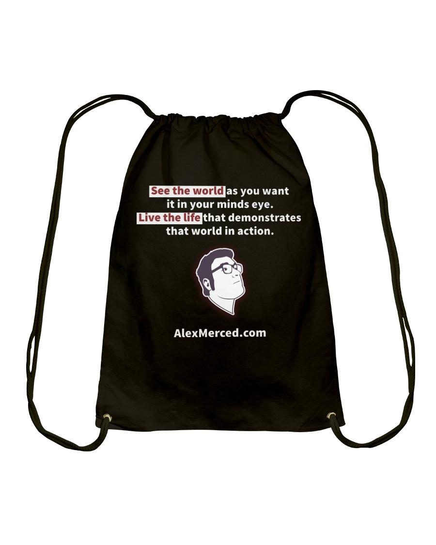 Libertarian Example T-Shirt Drawstring Bag
