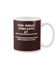 Find Libertarian Podcast T-Shirt Mug thumbnail