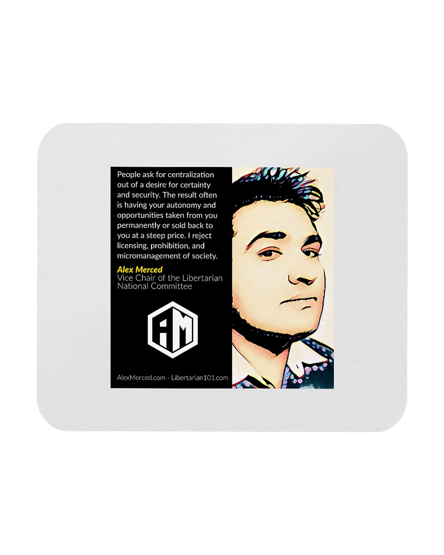 Alex Merced Quote 2 Mousepad