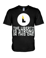 The Liberty is Strong in This One T-Shirt V-Neck T-Shirt thumbnail