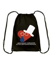 Libertarian Compassion T-Shirt Drawstring Bag thumbnail
