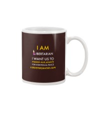 I am Libertarian T-Shirt Mug tile