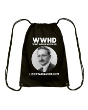 What Would Hayek Do T-Shirt Drawstring Bag thumbnail