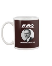 What Would Hayek Do T-Shirt Mug back