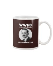 What Would Hayek Do T-Shirt Mug front