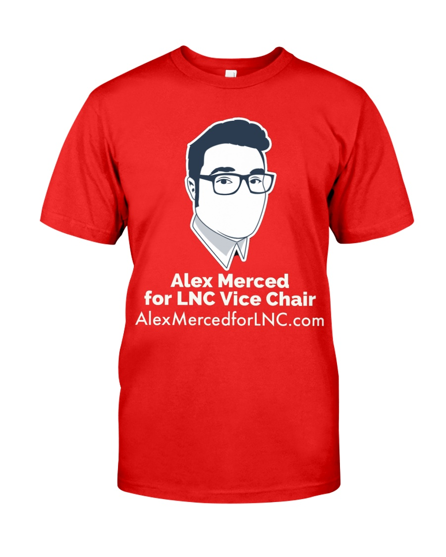 Alex Merced for LNC Shirt 2 Classic T-Shirt