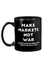 Make Markets Not War T-Shirt Mug back