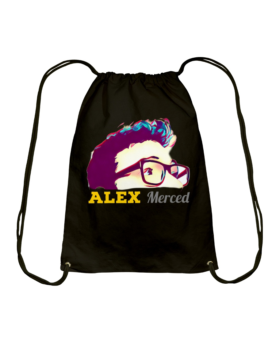 Alex Merced Shirt Drawstring Bag