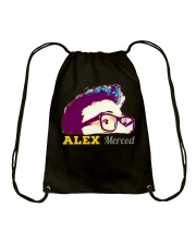 Alex Merced Shirt Drawstring Bag front