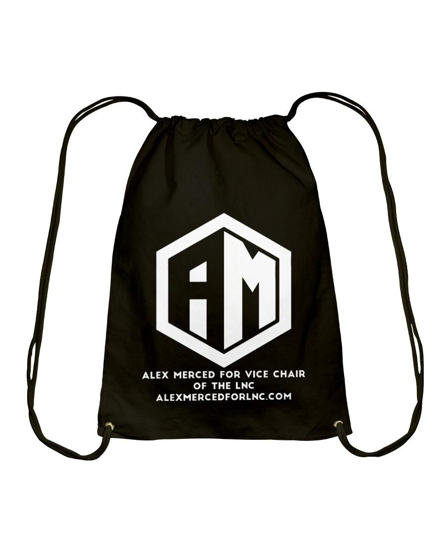 Alex Merced for Vice Chair of LNC T-shirt Drawstring Bag