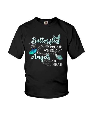 Butterflies Appear When Angels Are never