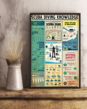 SCUBA DRIVE KNOWLEDGE  24x36 Poster lifestyle-poster-3