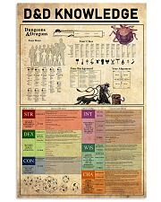 Dungeons-Dragons Knowledge 11x17 Poster front
