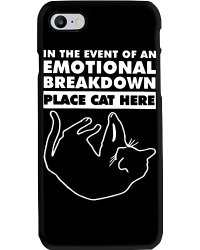 Emotional Breakdown Place Cat