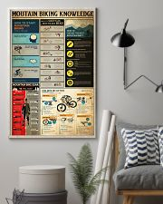 MOUTAIN BIKING KNOWLEDGE 24x36 Poster lifestyle-poster-1