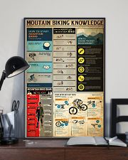 MOUTAIN BIKING KNOWLEDGE 24x36 Poster lifestyle-poster-2