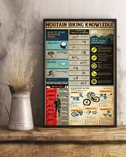 MOUTAIN BIKING KNOWLEDGE 24x36 Poster lifestyle-poster-3