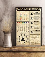 Yoga Knowledge 11x17 Poster lifestyle-poster-3