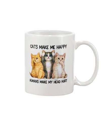 Cats Make Me Happy