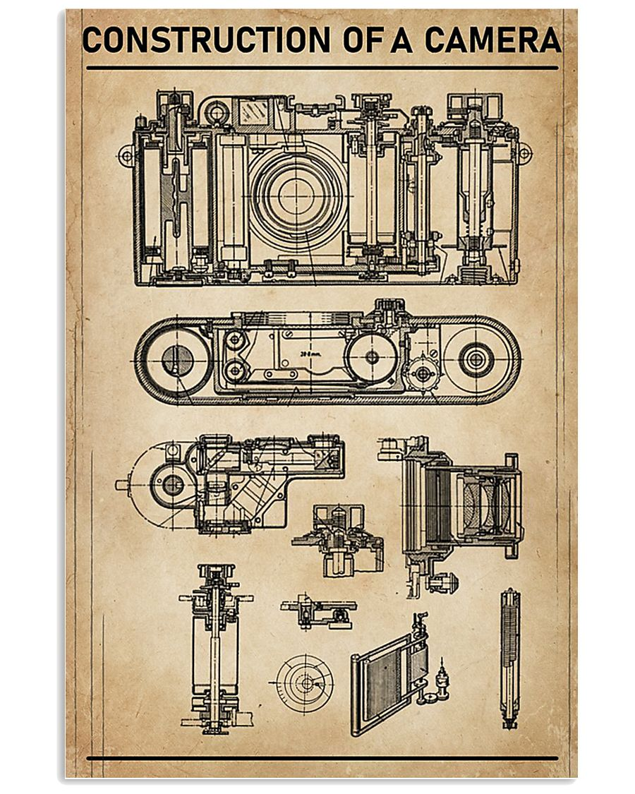 Construction Of A Camera 11x17 Poster