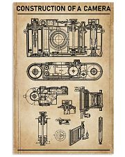Construction Of A Camera 11x17 Poster front