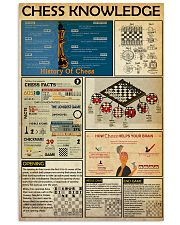 CHESS KNOWLEDGE  24x36 Poster front