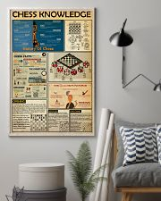 CHESS KNOWLEDGE  24x36 Poster lifestyle-poster-1