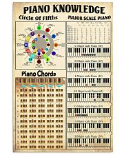 Piano Chord 11x17 Poster front