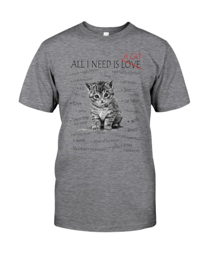 All I need is a cat