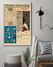 Fencing Knowledge 11x17 Poster lifestyle-poster-1