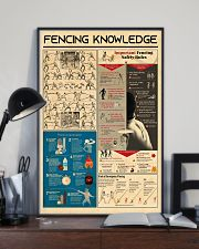 Fencing Knowledge 11x17 Poster lifestyle-poster-2
