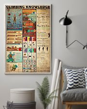 CLIMBING KNOWLEDGE  24x36 Poster lifestyle-poster-1