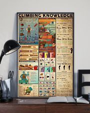 CLIMBING KNOWLEDGE  24x36 Poster lifestyle-poster-2