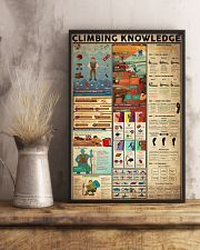 CLIMBING KNOWLEDGE  24x36 Poster lifestyle-poster-3