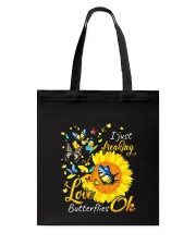 Love Butterfly OK Tote Bag thumbnail
