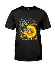 Love Butterfly OK Classic T-Shirt front