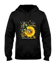 Love Butterfly OK Hooded Sweatshirt thumbnail