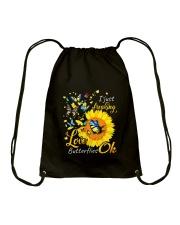 Love Butterfly OK Drawstring Bag thumbnail