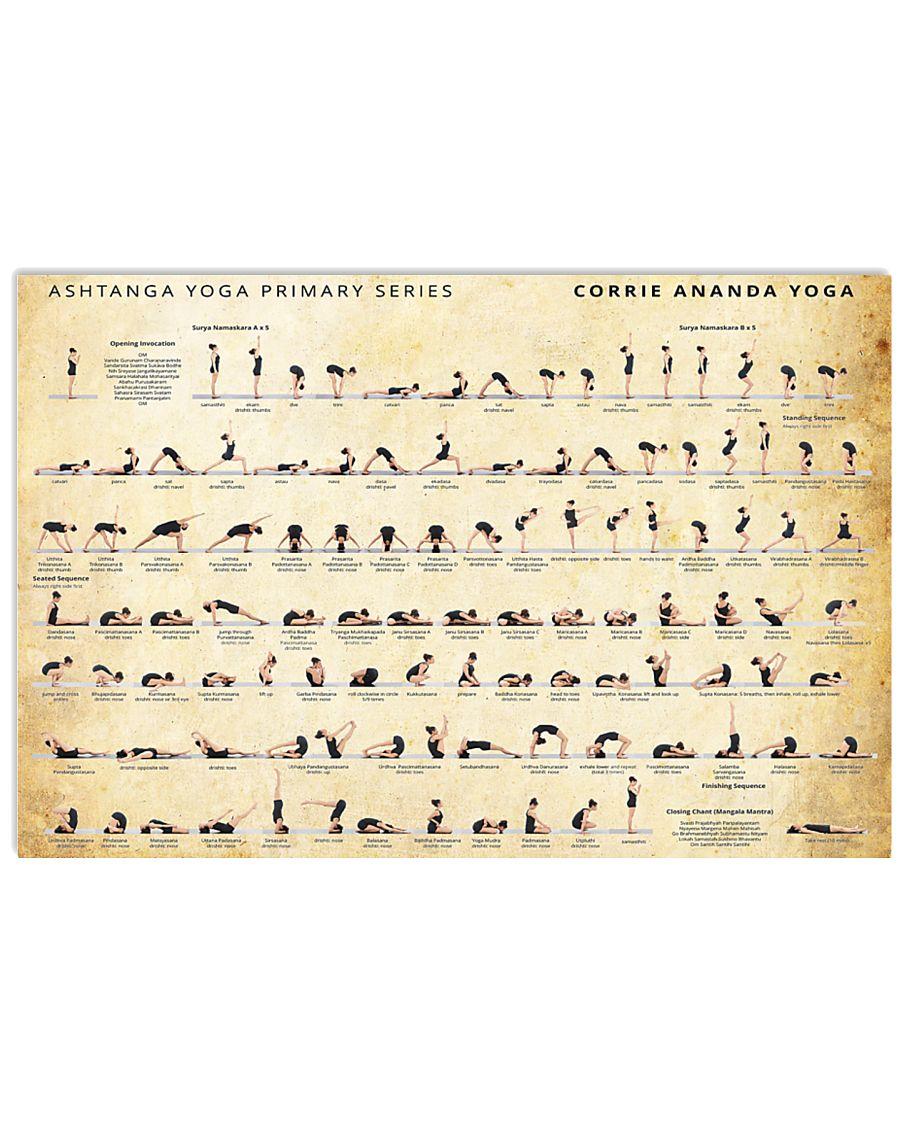 Yoga  17x11 Poster
