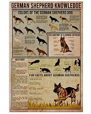 GERMAN SHEPHERD 11x17 Poster front