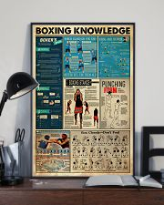 BOXING KNOWLEDGE 24x36 Poster lifestyle-poster-2