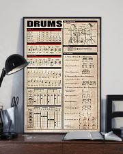 Drums Chart 11x17 Poster lifestyle-poster-2