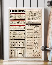 Drums Chart 11x17 Poster lifestyle-poster-4
