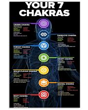 7 Chakras Knowledge  11x17 Poster front