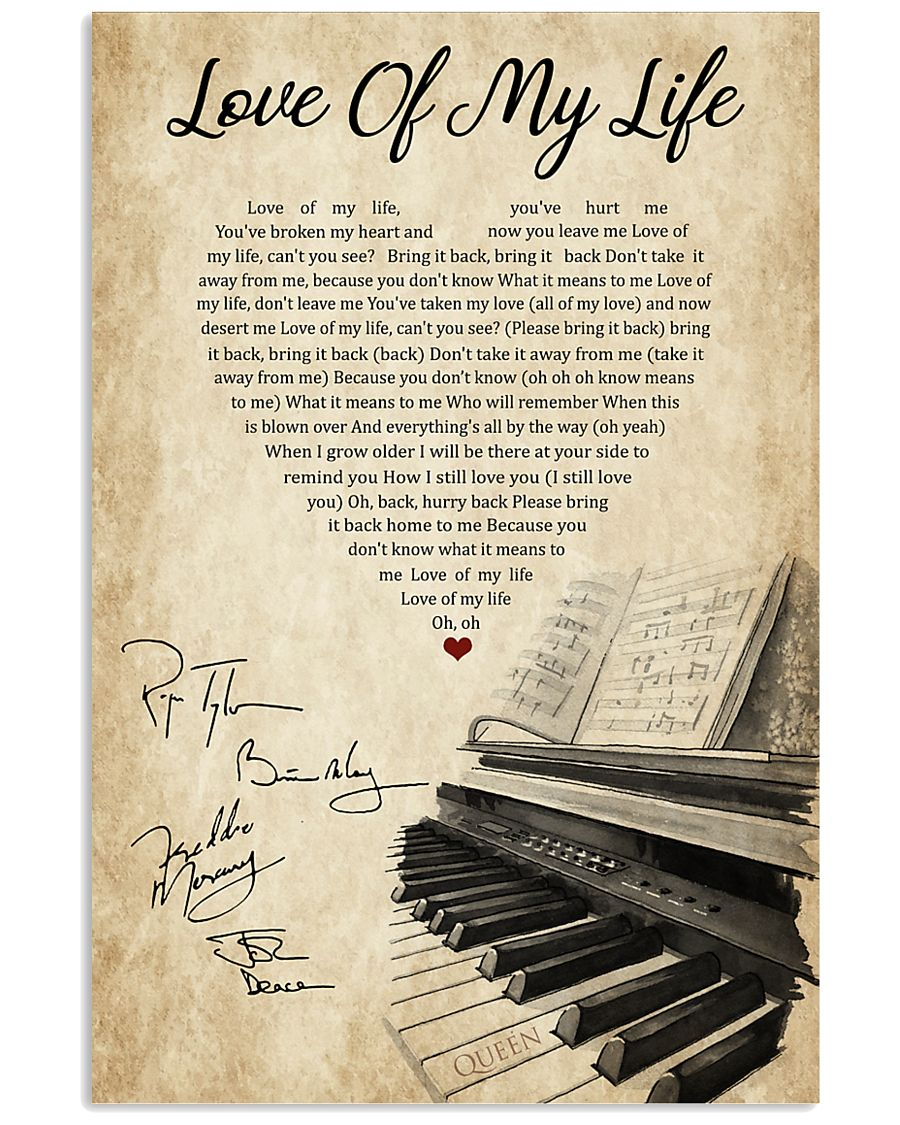 Piano 11x17 Poster