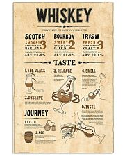 Whiskey  11x17 Poster front