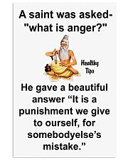 What is anger 11x17 Poster front